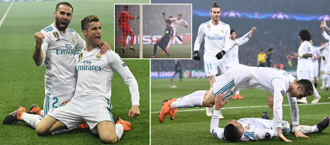 5 TALKING POINTS! PSG 1-2 Real Madrid (2-5 Agg)… As Ronaldo And Casemiro Score As Los Blancos Progress!