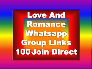 Love And Romance Whatsapp Group Links 2020 romantic love  whatsapp group link