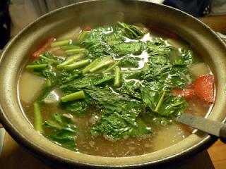 鶏汁 鶏鍋
