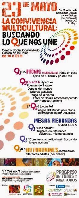 Lavapiés celebra Día Mundial de la Diversidad Cultural