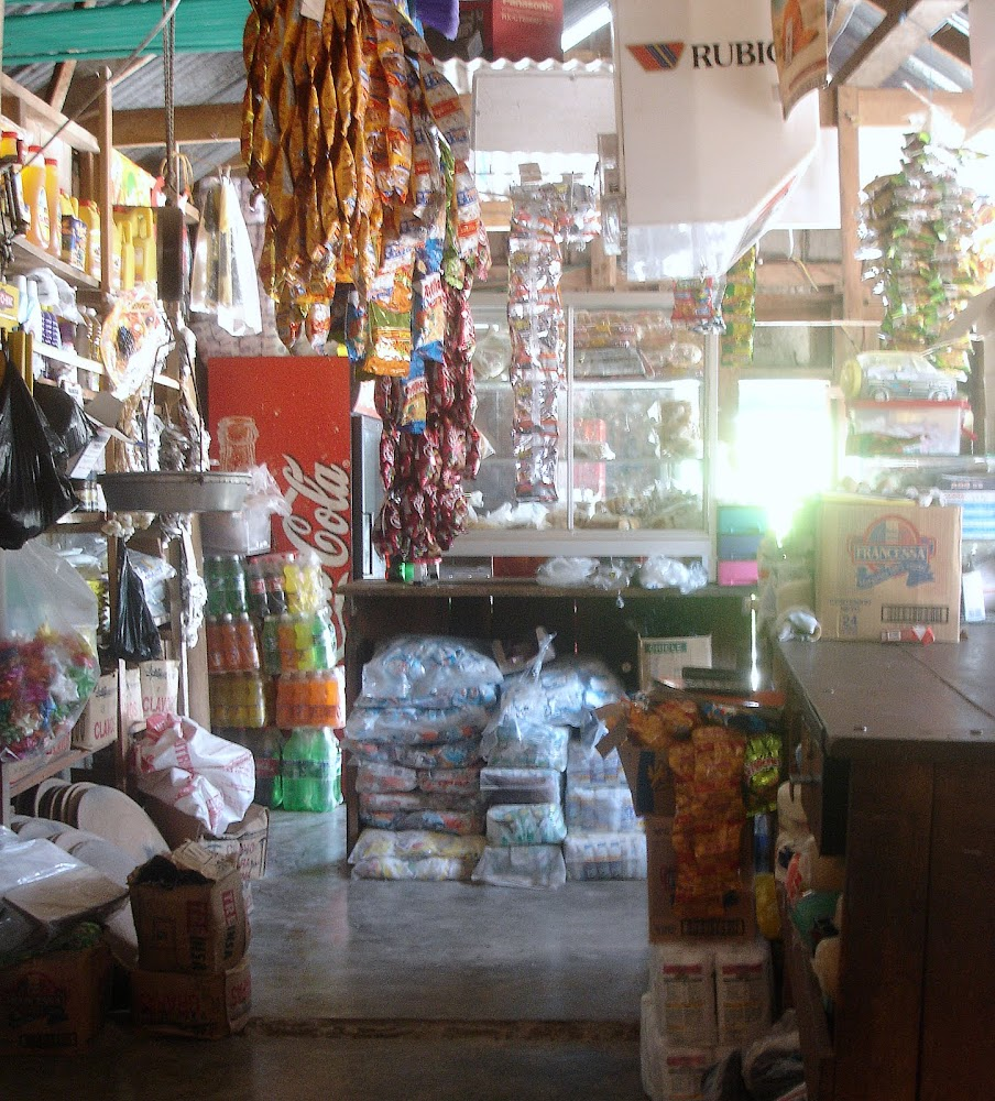 A village tienda in Northern Guatemala, near Flores Lake and the Belize border.