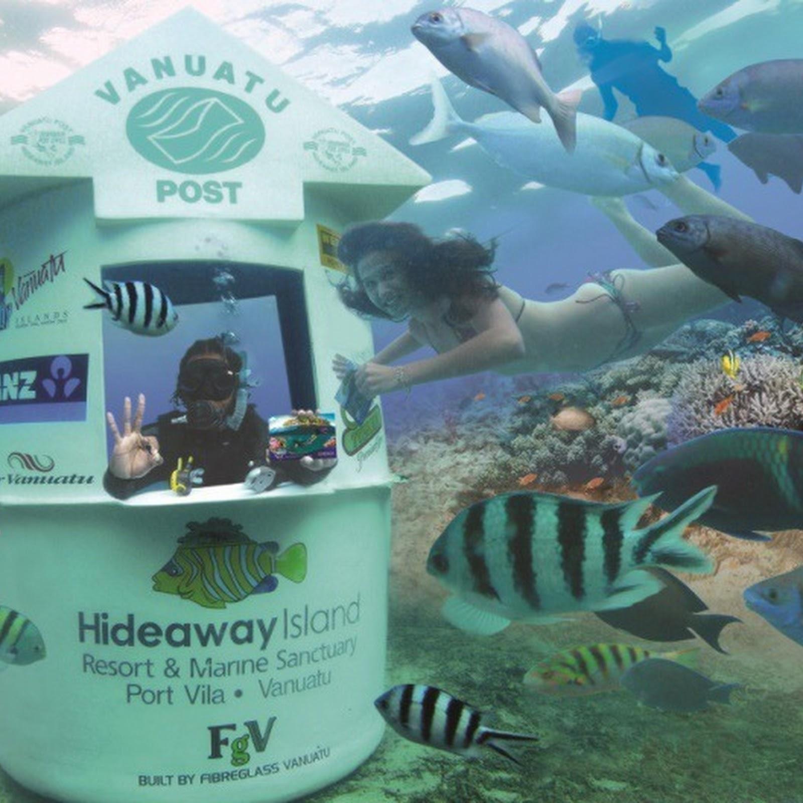 Underwater Mailboxes Around The World