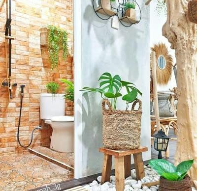 Kamar mandi modern kecil