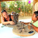 Nos premières pièces- San Juan de Oriente, Nicaragua