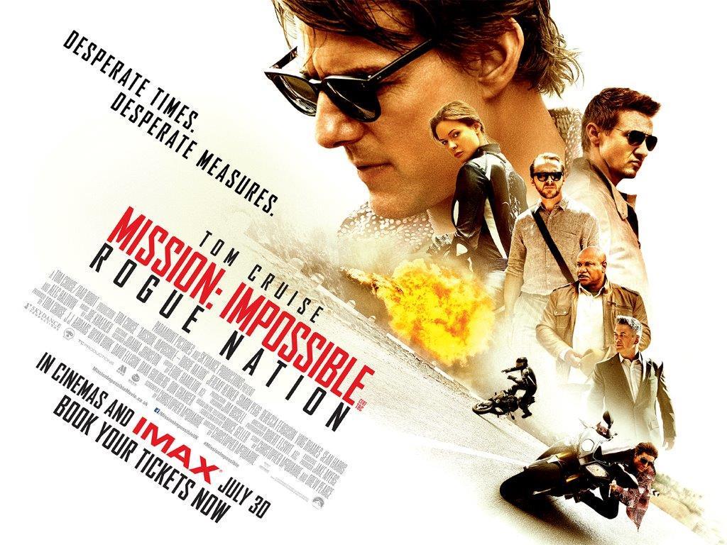 Επικίνδυνη Αποστολή: Μυστικό Έθνος (Mission Impossible: Rogue Nation) Wallpaper