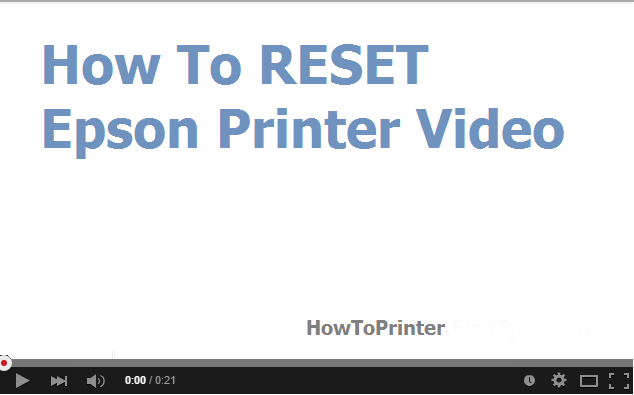 How to Reset Epson XP-211 printer Video by WIC Tool