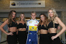 Marcus Ericsson with girls atmosphere.Circuit of the Americas.