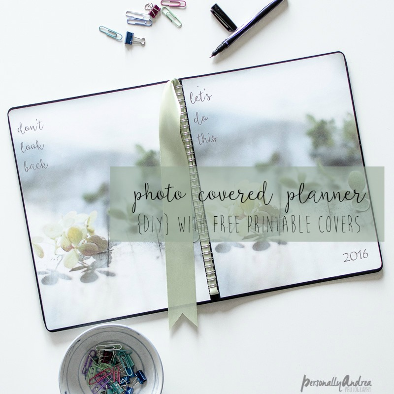 Photo Covered Planner