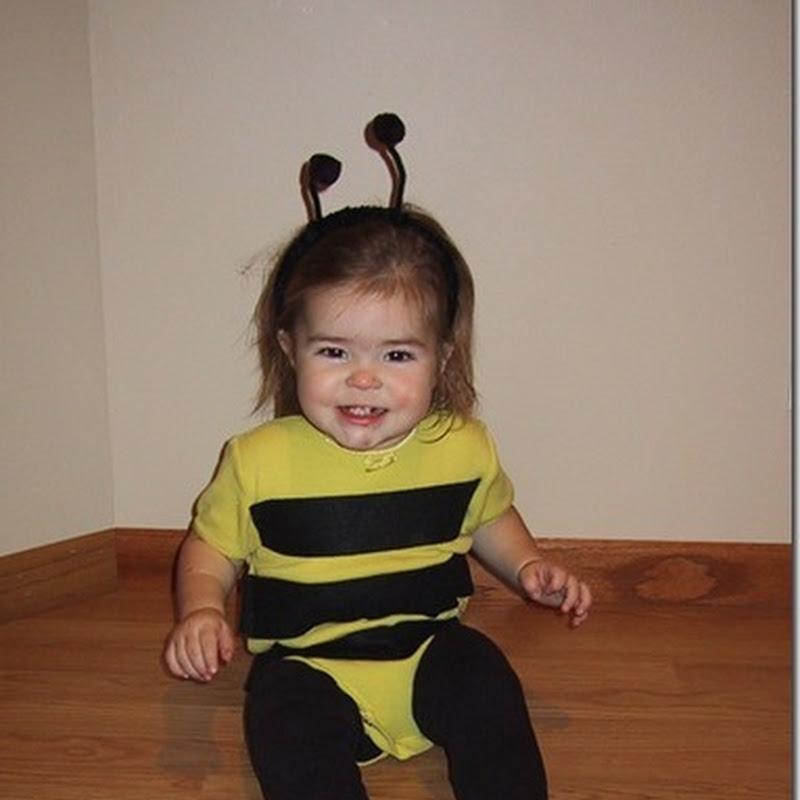 Muy fácil disfraz de abejorro para niño