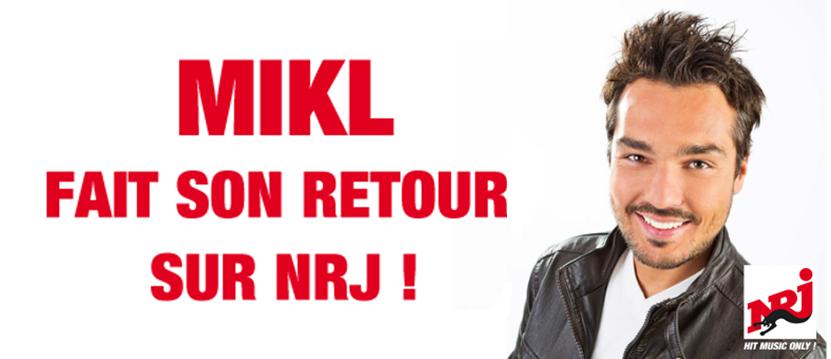 Mikl sur NRJ