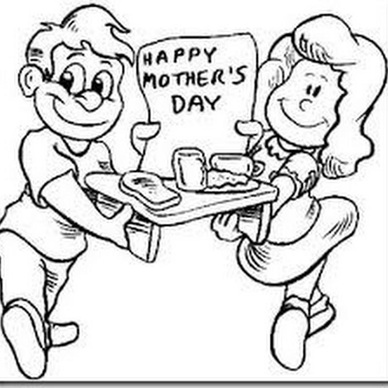 Colorear dia de la madre en ingles