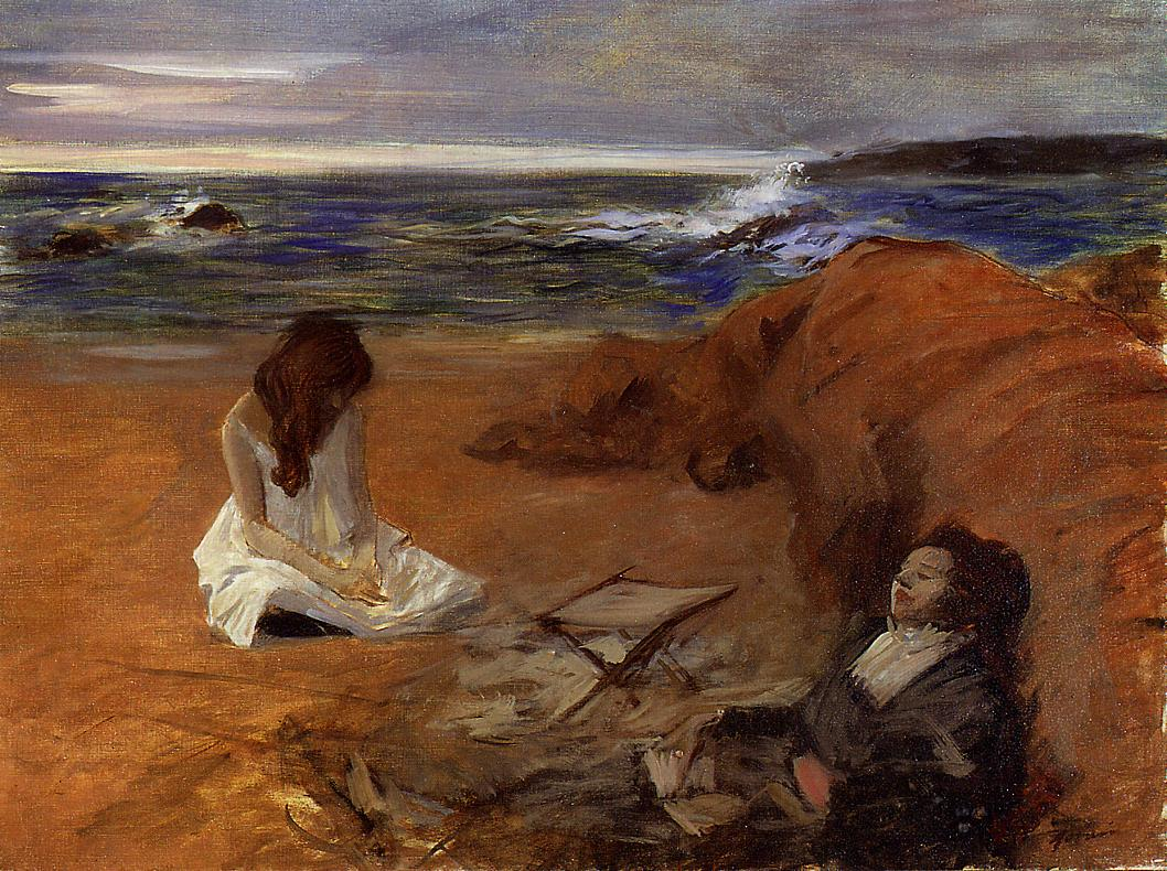Jean-Louis Forain - The Beach