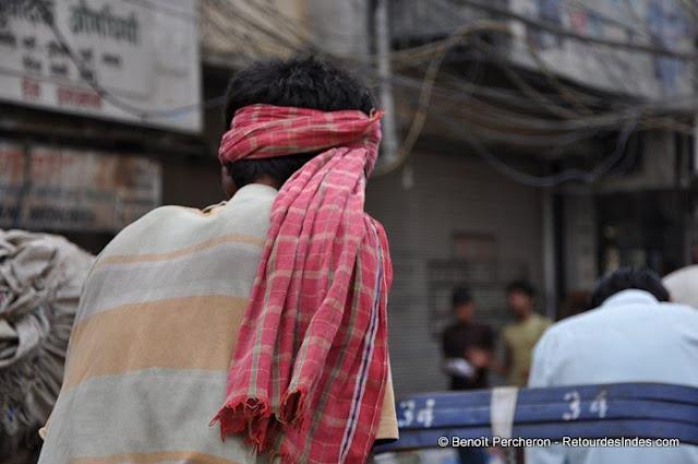 Conducteur de Rickshaw, Vieux Delhi