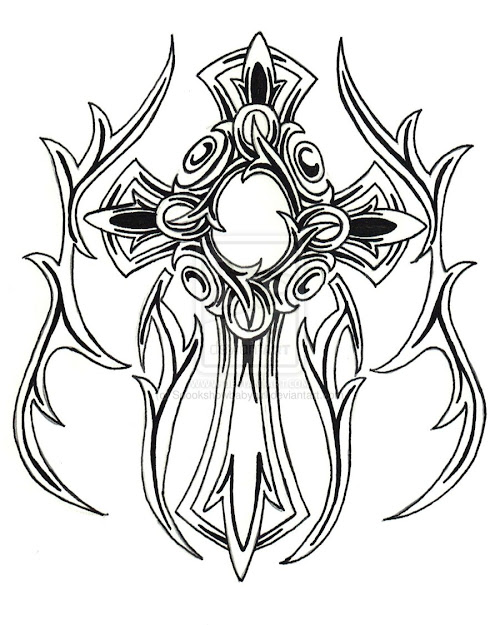 Cross Coloring Pages  Printable Cross Coloring Pages