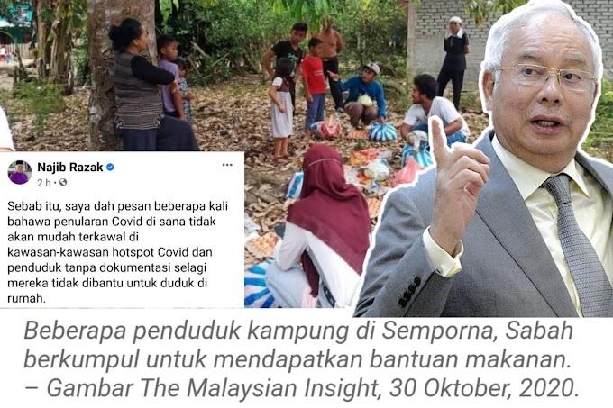 Langgar PKPD untuk cari makan, kata penduduk di Semporna | Ini respon Najib Razak
