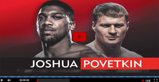 Image result for watch anthony joshua vs povetkin
