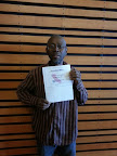 Alonzo Hayes, CASC student receives his Food Handler's Certificate, April 2014