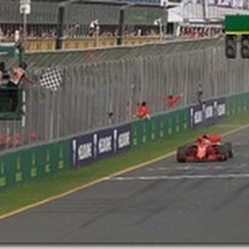 GP d'Australia: Vettel vince la prima gara del 2018