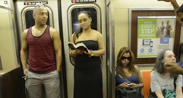 THE LION KING Broadway Cast Takes Over NYC Subway