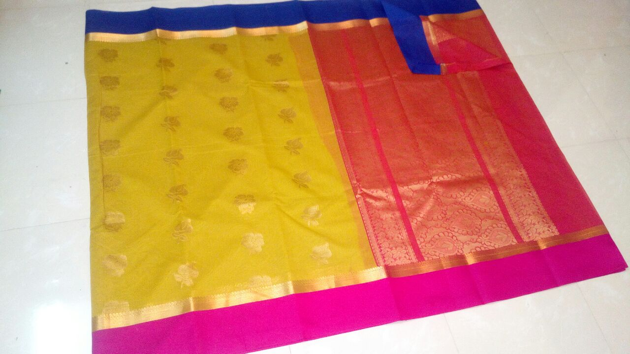 Handloom Soft Seiko Kuppadam Saree @ Rs  2600   Koyal Fashions South
