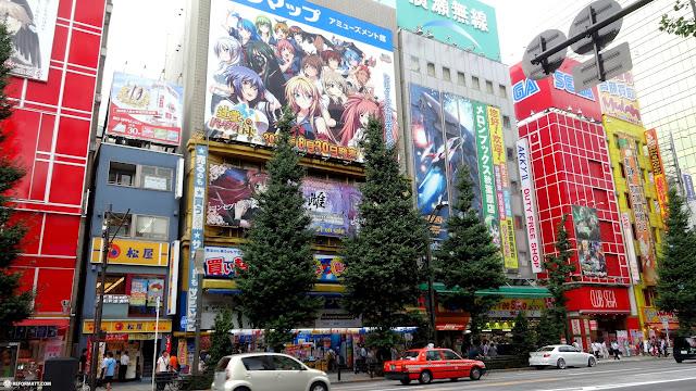 the electronic town Akihabara, Tokyo in Akihabara, Tokyo, Japan