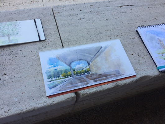 Urban sketching with Stephanie Bower