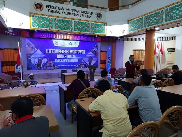 36 Wartawan Ikuti Uji Kompetensi Wartawan (UKW) Angkatan XIII