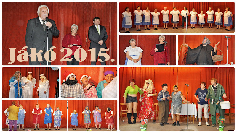 Nyugdíjas Kistérségi Találkozó Jákó 2015!