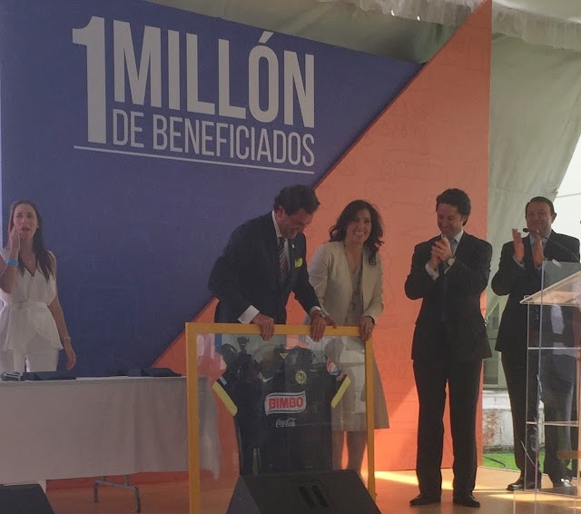 GNP Seguros y Fundación Televisa llegan al millón de beneficiados