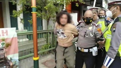 Polisi Dihajar Mantan Napi saat Razia Prokes, Sempat Pusing dan Mual