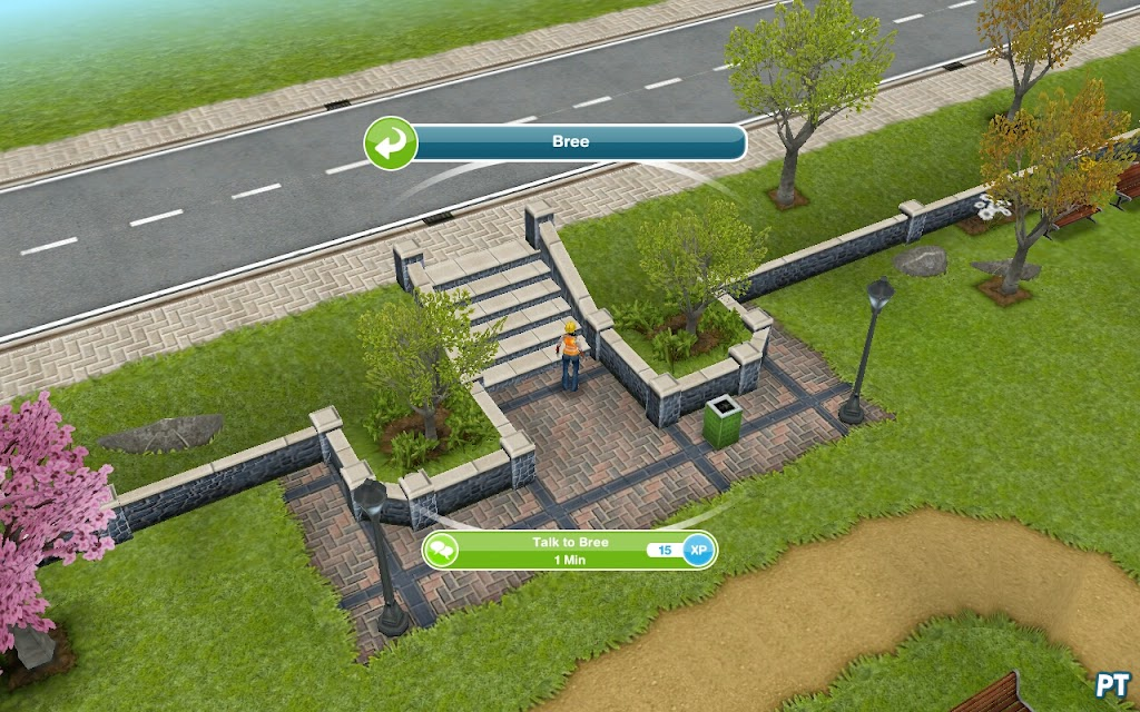 sims freeplay DIY Homes: Peaceful Patio quest