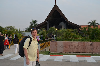Arriving in Siem Reap