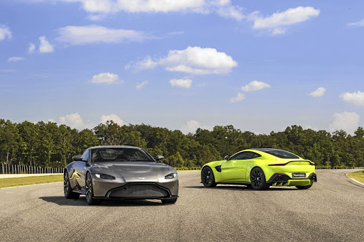 Aston Martin has revealed its new Vantage