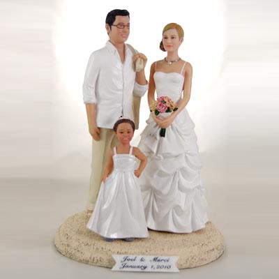 Blended Family Custom Cake Topper
