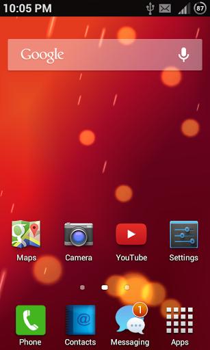 Sami OS 1.0 - Homescreen