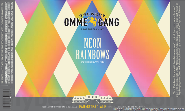 Brewery Ommegang Adding Neon Rainbows Cans