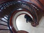 England Brown Granite staircase