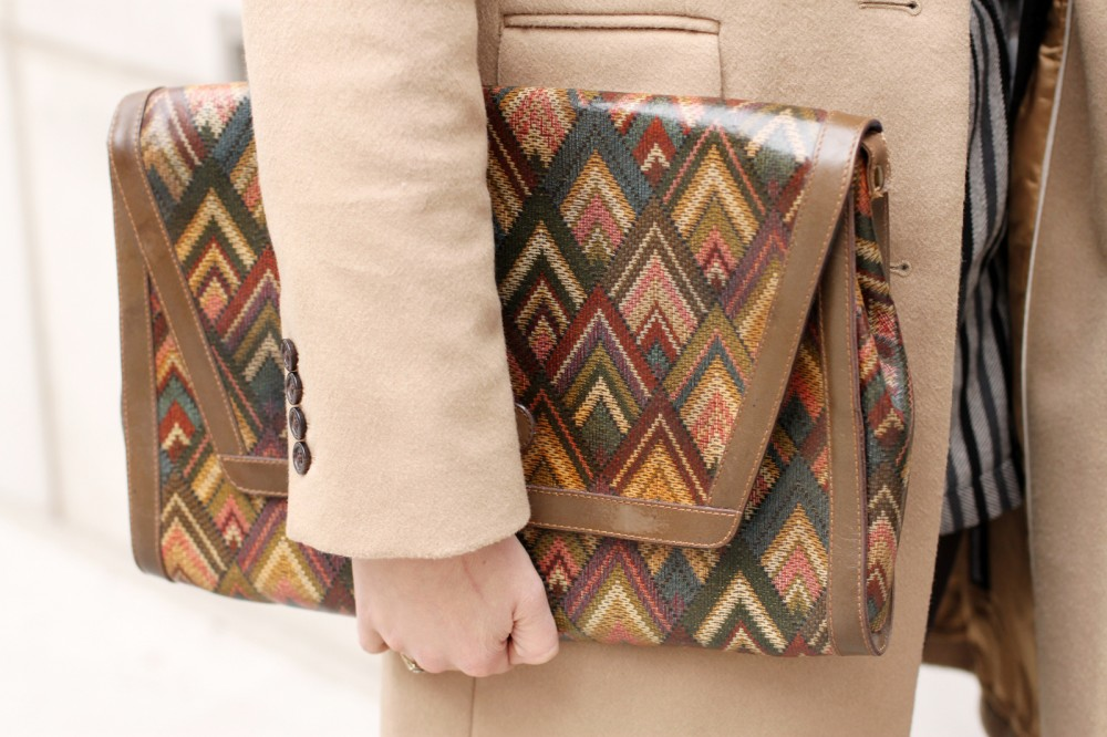 Spotted [Vintage Missoni Clutch NYFW 2012]