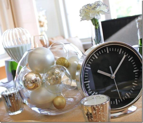 Decorazioni per capodanno fai da te case e interni - Decorazioni tavola capodanno fai da te ...