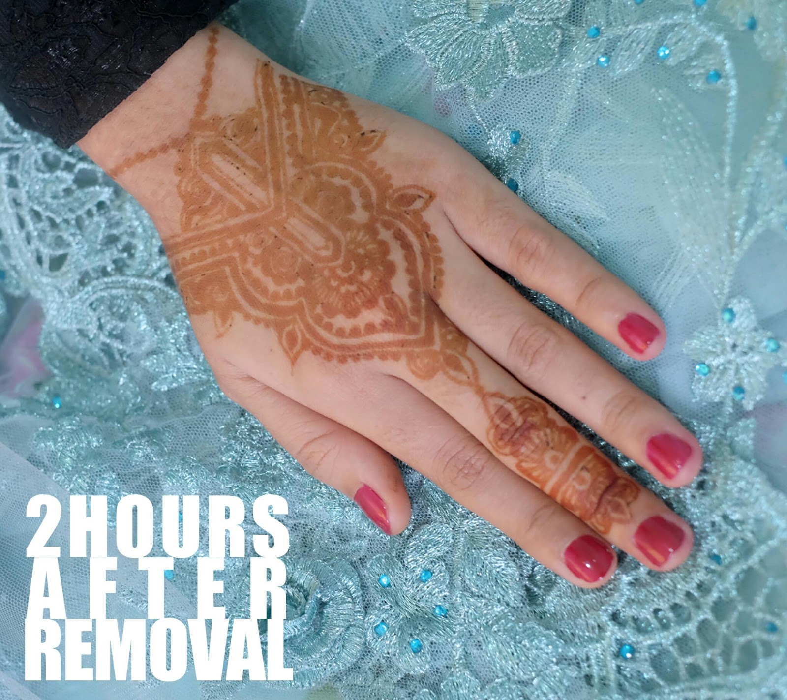 Koleksi Henna Gagal 2017  Teknik Menggambar Henna atau Inai