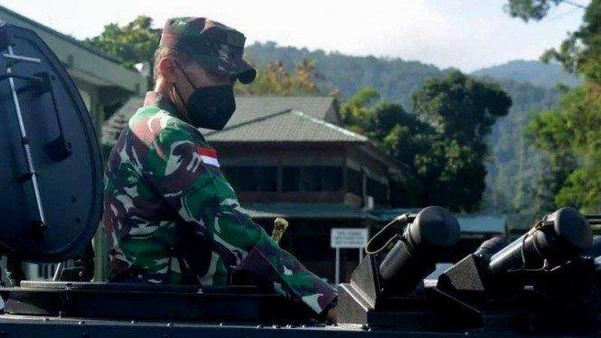 Sangar, 4 Kendaraan Perang Baru TNI Tiba di Papua