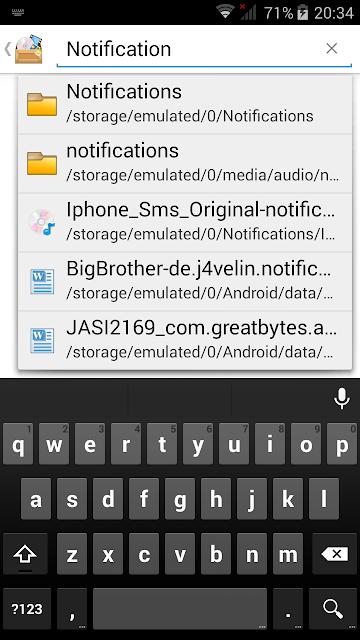 Android zil sesi değiştirme