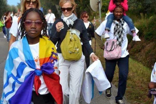 Marcia della Pace 2014 Perugia-Assisi