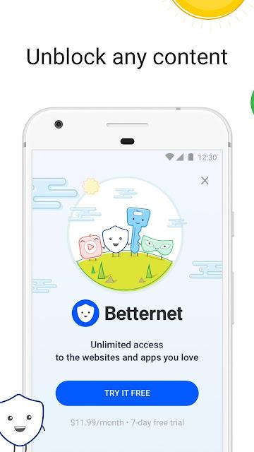 VPN Free - Betternet Hotspot VPN & Private Browser