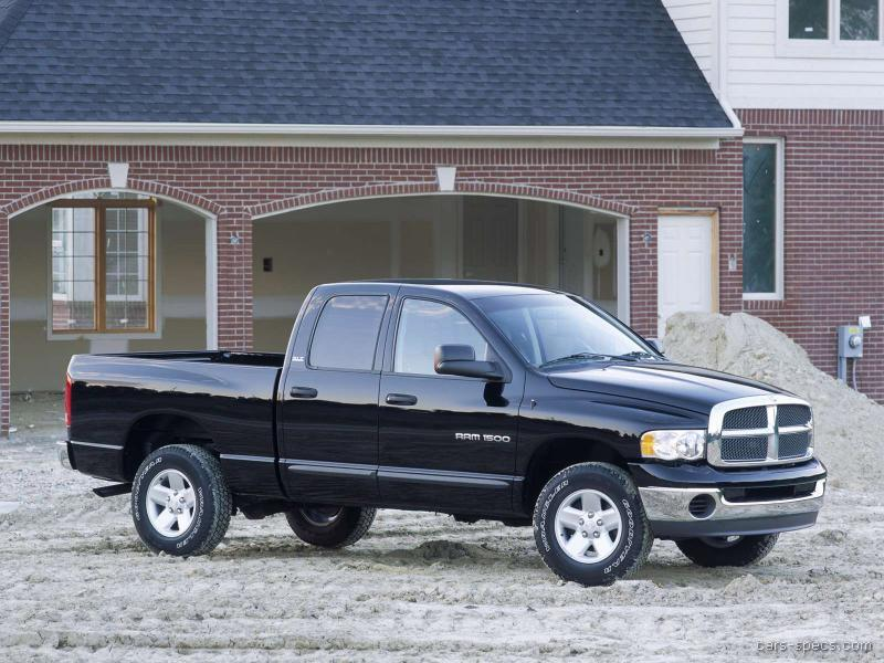 2002 dodge ram pickup 1500 quad cab specifications pictures prices. Black Bedroom Furniture Sets. Home Design Ideas
