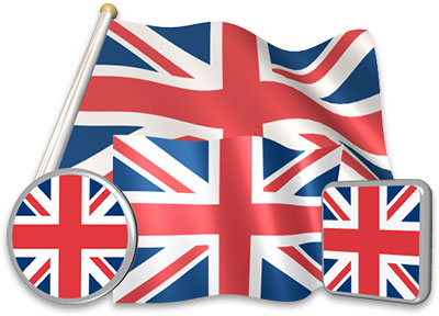 British flag animated gif collection