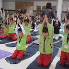 Yoga Session Sr.KG. to Grade II  (1-3-2017)