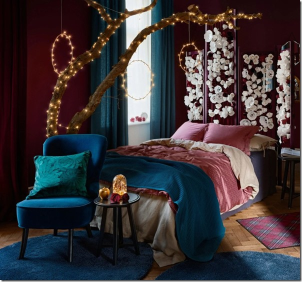 camera-letto-inverno-ikea-colori-intensi