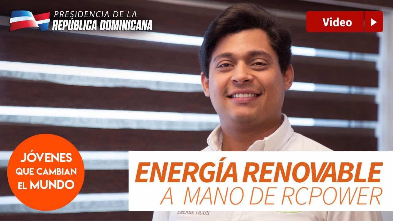 Miguel Peralta, emprendedor en energía renovable a mano de RCPower