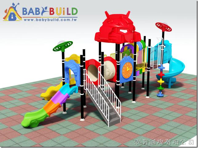 BabyBuild 變形金剛主題風格遊具